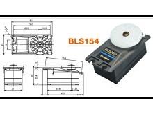 Futaba Servo BLS154 - 8.0 kg/cm - solange Vorrat