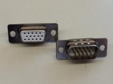 CAN15 D-Sub HD Stecker-Paar 15 polig, 3 reihig