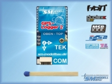 SM Modellbau GPS-Logger 2 mit Speicherkarte und Kartenleser