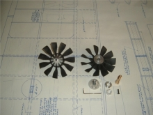 Impeller JETFAN-120 Ersatzrotor