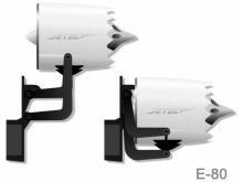 JETEC   E-80 Klapp-Impeller - Klapptriebwerk für Segler mit Servo