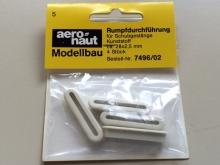 Aeronaut Rumpfdurchführung (4 Stück)