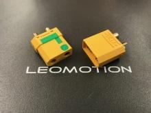 4.5mm Stecker/Buchsen Set vergoldet mit Verpolungsschutz und Antiblitz (XT90-S)