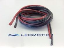 Silikonkabel 2.5mm²  rot/schwarz, je 2m