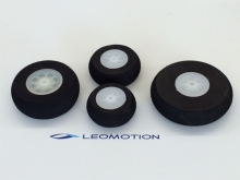 Moosgummi Leichtrad 45mm (2 Stück)