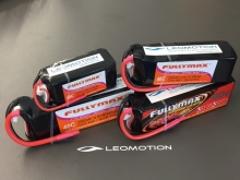 Leomotion LiPo  2600mAh 6s1p 40C  - by Fullymax