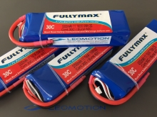 Leomotion LiPo  3700mAh 2s1p 30C  - by Fullymax