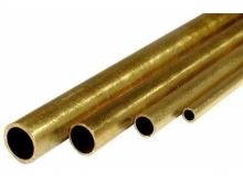 Messingrohr  7.0/6.1mm, 1m, hart