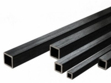 CFK Vierkantrohr  3x3mm, 1m