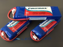 Leomotion LiPo  1250mAh 2s1p 30C  - by Fullymax