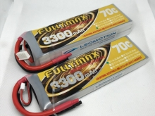 Leomotion LiPo  3300mAh 2s1p 70C  - by Fullymax