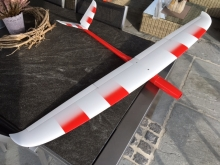 RM Bird F5B Full Carbon  (1490mm) rot/weiss