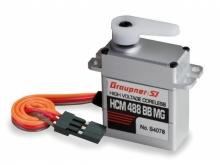 Graupner Servo HCM 488 BB MG - 3.7 kg*cm - solange Lager