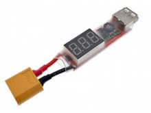USB Power ab 2-6s Lipo (XT60)