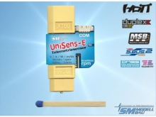 SM Modellbau UniSens-E 140A mit XT60 Stecker