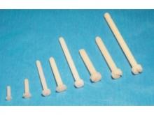 Nylon Schrauben mit Flach-Kopf M3x25mm (10 Stück)