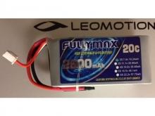 Fullymax Empfänger-Akku  7.4V, 2600mAh RX, 20C