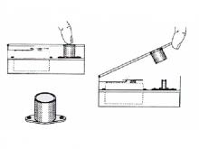 Fourmost Kabinen-Druck-Verschluss