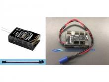 Futaba Empfänger FASST R7006SB + Dualsky S.BUS HUB - 18-Channel