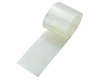 Schrumpfschlauch 2:1, transparent  45mm flach / Ø29mm (1 Laufmeter)