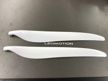 "Leomotion Carbon Propeller 17.0 x 10.0"" (8mm) - weiss"