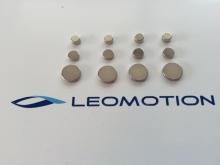 Leomotion Scheibenmagnet  Ø6x2mm (4 Stk.)