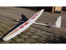 Tangent KULT Elektro Design Rot-Gelb  RTF (336cm)