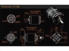 LEO 2820-0880 V3 / Dualsky XM3542EA3-11