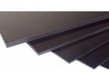 GFK Platte 0.5mm/300x200mm - schwarz