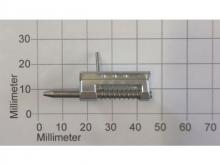 Kabinenhauben-Verschluss 3mm, L=26mm, Alu