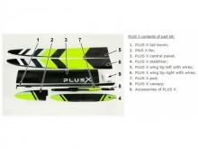 PLUS X F5J  (3970mm) ab 1100g! mit IDS