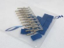 Futaba Stecker blau (female-pin, Servoanschluss) zum krimpen (10Stk)