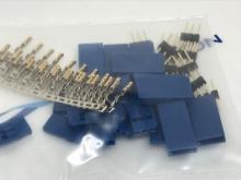 Futaba Stecker blau (male-pin) zum krimpen (10Stk)