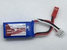 Leomotion/NeuEnergy LiPo  180mAh 2s1p 25C