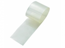Schrumpfschlauch 2:1, transparent  65mm flach / Ø42mm (1 Laufmeter)