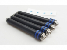 Motor-Verlängerung  ∅8mm Alu, M3,  Länge 40 bis 60.0mm