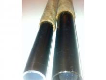 Flügelsteckung Hartpapier/Alu - Ø32mm, 1m