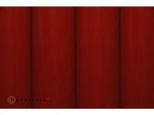 Oracover Bügelfolie, rot - Rolle 60cm x 2m