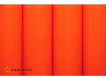 Oracover Bügelfolie, orange - Rolle 60cm x 2m
