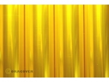 Oracover Bügelfolie, transparent gelb - Rolle 60cm x 2m
