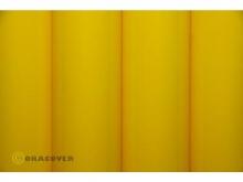 Oracover Bügelfolie, cadmiumgelb - Rolle 60cm x 2m