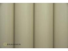 Oracover Bügelfolie, cream - Rolle 60cm x 2m