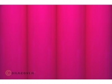Oracover Bügelfolie, fluoreszierend pink - Rolle 60cm x 2m