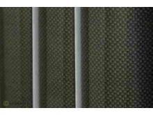 Oracover Bügelfolie, Carbon - Rolle 60cm x 2m