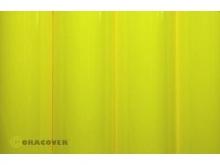 Orastick Klebfolie, gelb fluor - Rolle 60cm x 2m