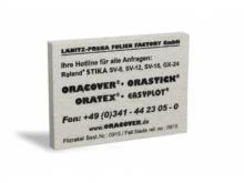 Oracover Filzrakel zum gründlichen Anpressen