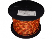 JR/Futaba Servokabel verdrillt PVC 0.35mm² (1 m) Muldental