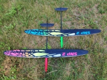 SNIPE 2  UHM (1490mm) spec. Design blue - Ready to Fly