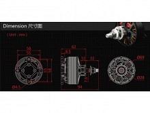LEO 6015-0480 R / Dualsky GA2000R - Racing Serie