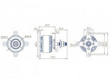 LEO 4114-660 / Dualsky GA800.9